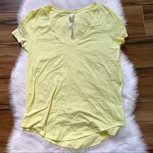 LMNI lime love tee lululemon short sleeve NWT